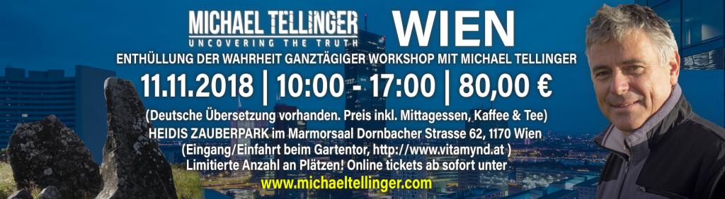 Michael Tellinger – Verborgene Ursprünge @ Heidis Zauberpark | Wien | Wien | Österreich