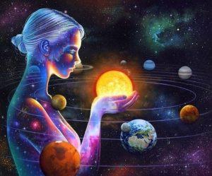 Die kosmische Frau und die göttliche weibliche Energie in der Astrologie @ Heidis Zauberpark