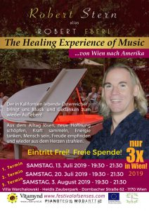 The Healing Experience of Music - mit Robert Stern alias Robert Eberl @ Heidis Zauberpark | Wien | Wien | Österreich